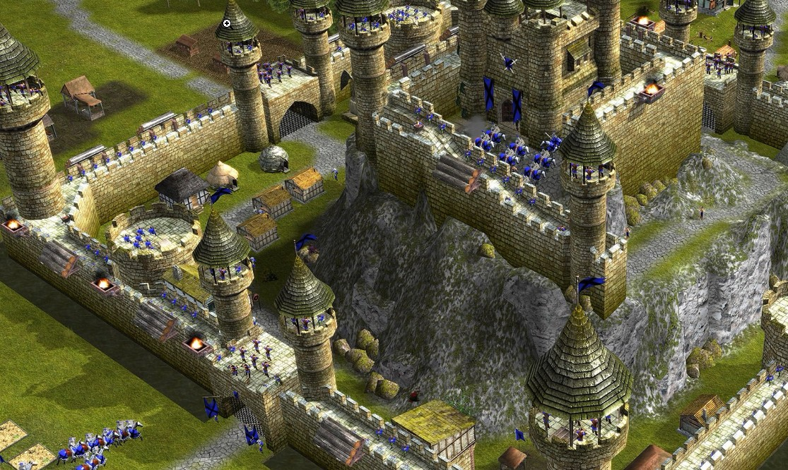 Build your castles to withstand attacks