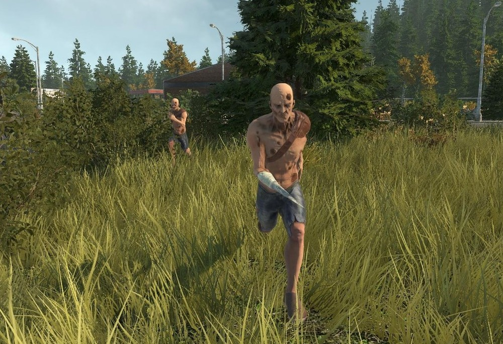 Mutants attack in Miscreated
