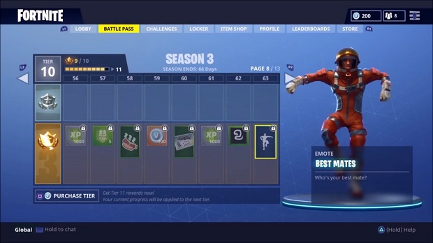 Top 10 Best Fortnite Emotes That Are Freakin Cool! | GAMERS
