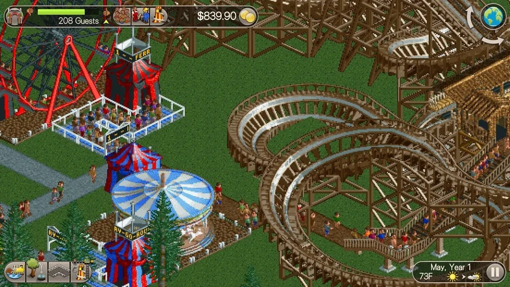 Top 10 Best Theme Park Games to Play Today (Park Simulation