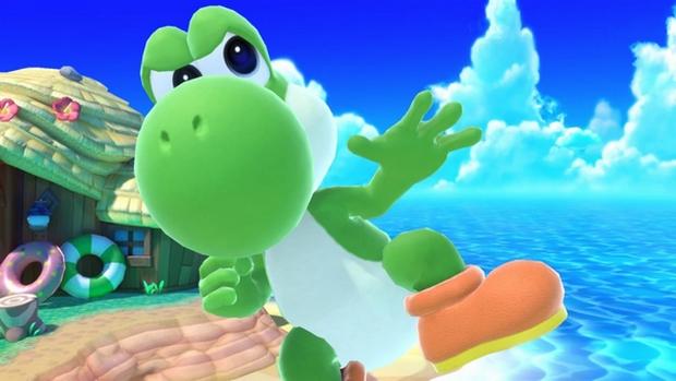 Yoshi in Smash Ultimate