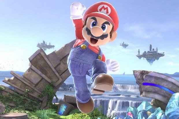 Mario in Smash Ultimate