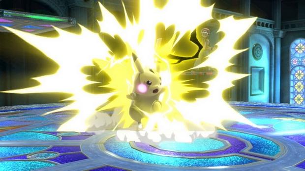 Pikachu in Smash Ultimate