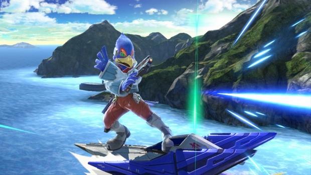 Falco in Smash Ultimate
