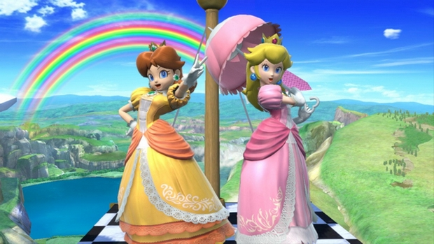Peach and Daisy in Smash Ultimate