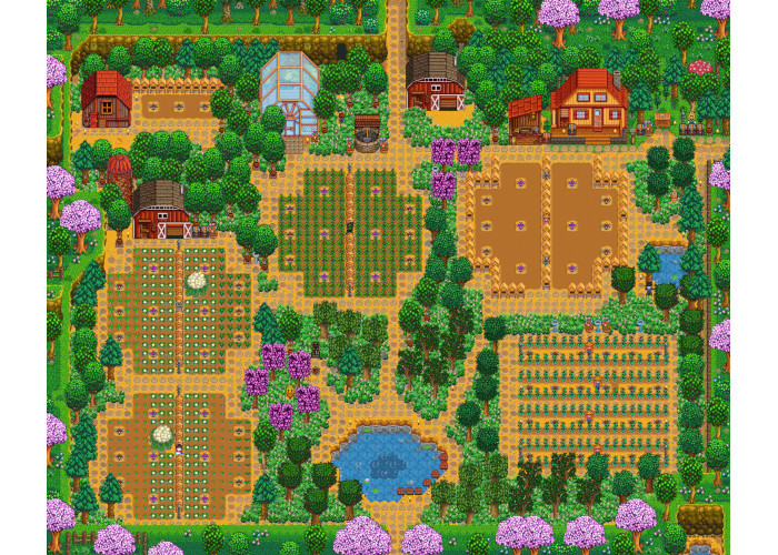 Top 10 Best Stardew Valley Farm Layouts | GAMERS DECIDE
