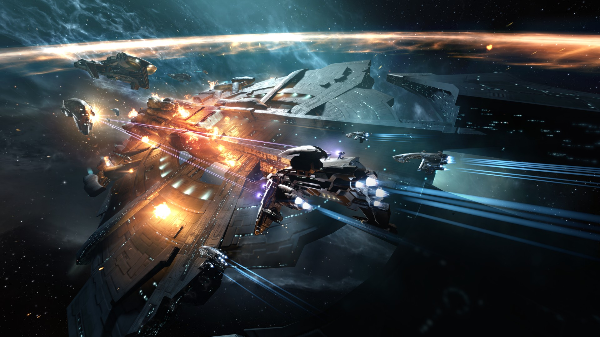Top 15 Space Games Like Freelancer (Games Better Than