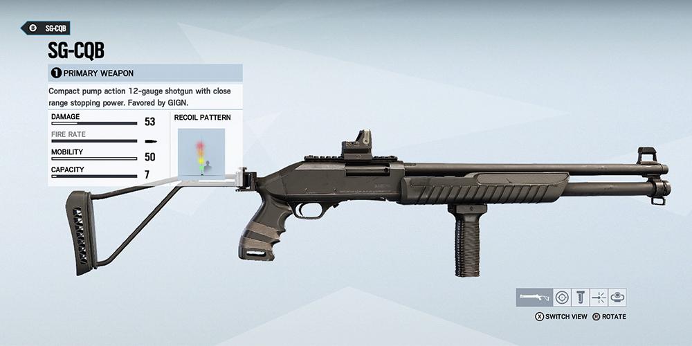 Rainbow 6 Siege Best Shotgun (Which R6S Operator Has the