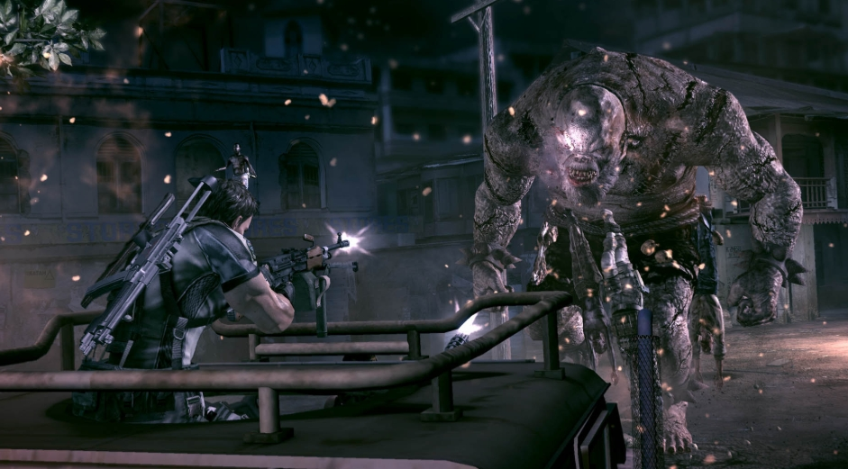 Big and mighty: These creatures may be familiar to Resident Evil fans, but this new environment will make it feel like the first time again like you're Madonna.