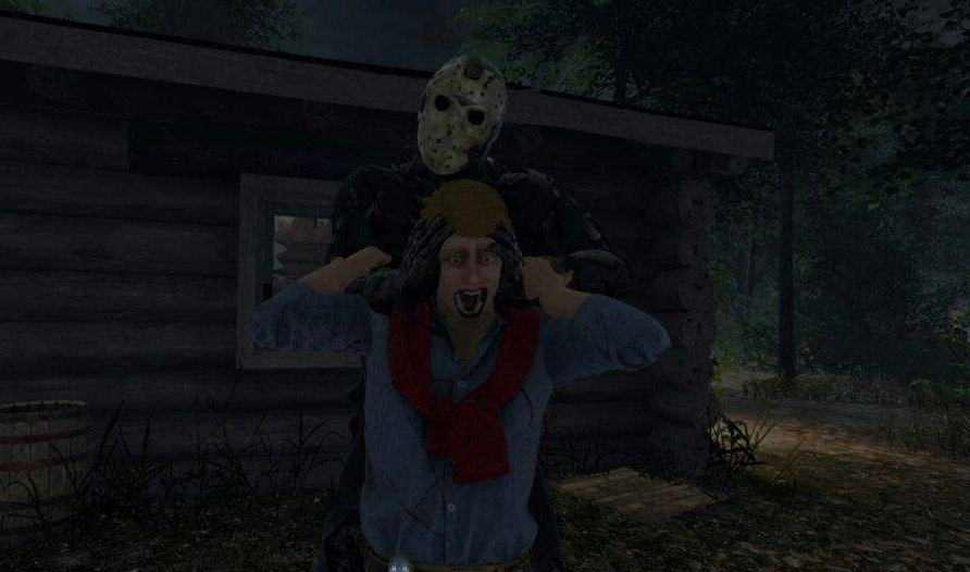 Tight squeeze: Jason is not immortal, but he's certainly stronger than you. Don't get cocky, or your round will get cut short.