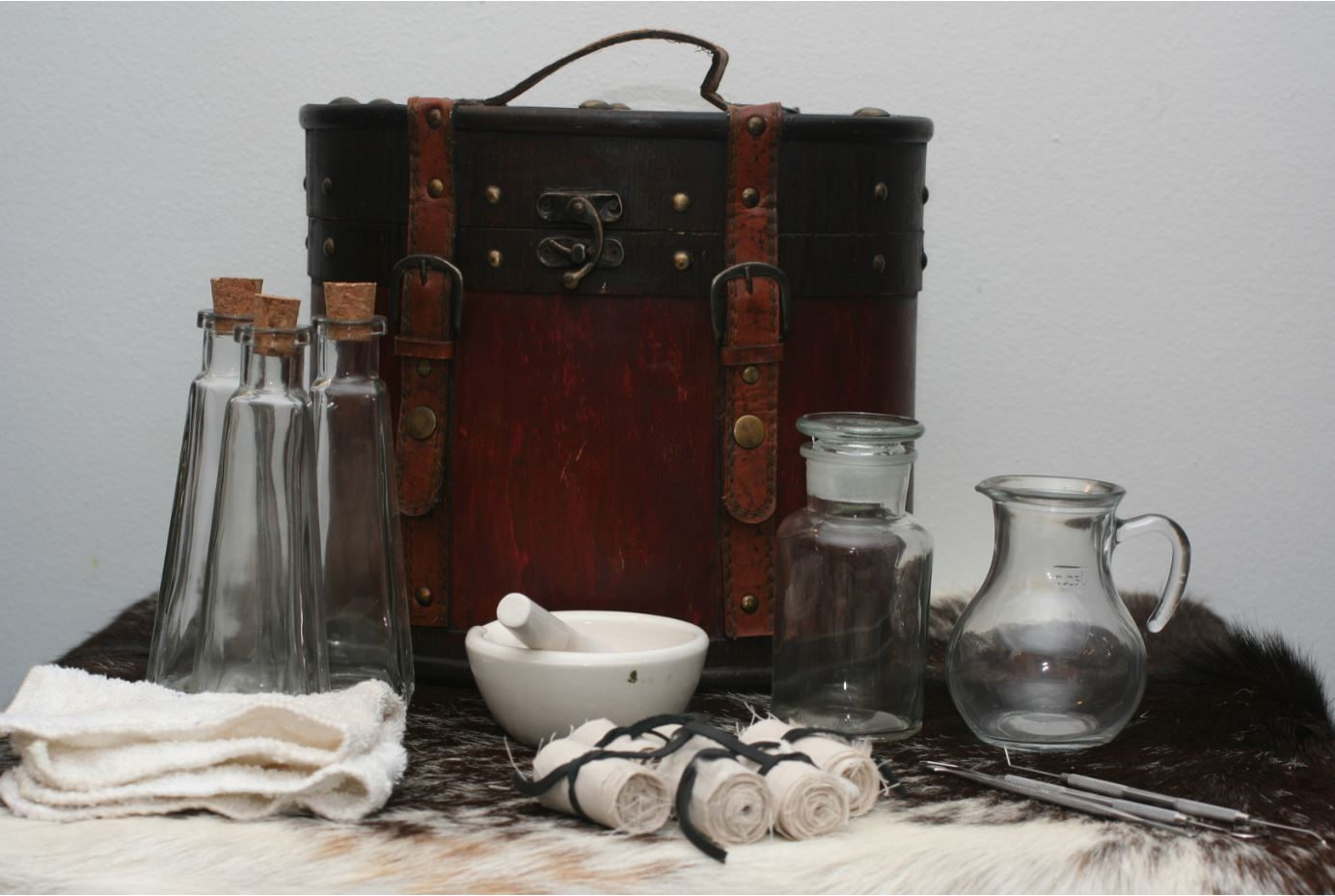 A Healer's Kit sits open and laid out [Photo Credit: Versalla]