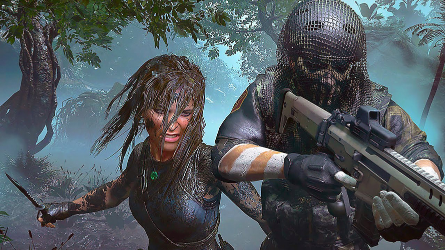 Watch your six: Stealth is a huge factor in Lara's ability to take down enemies.