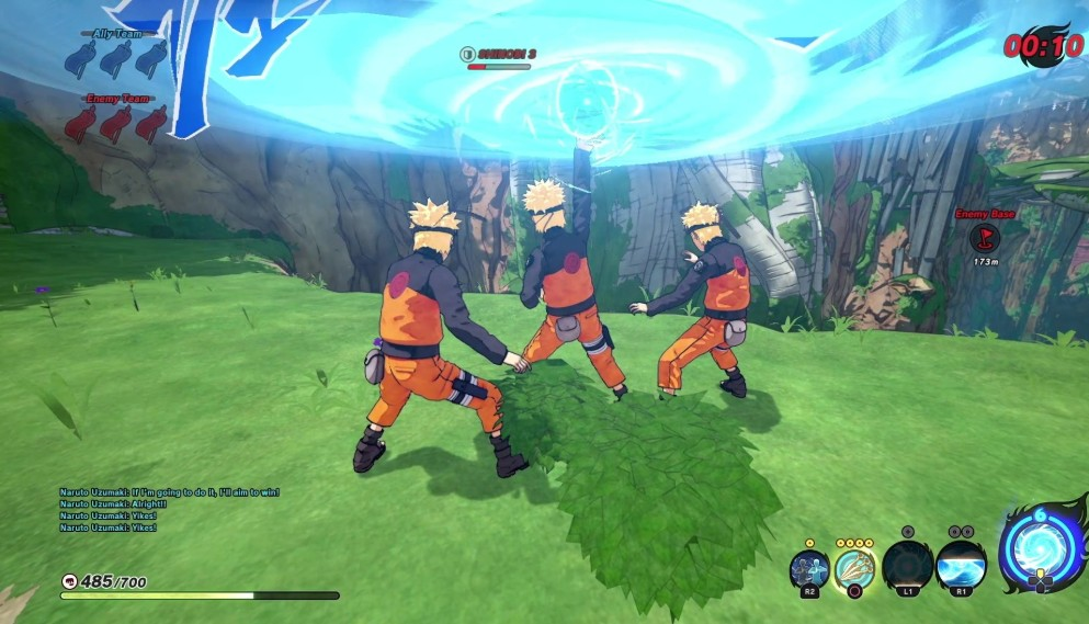 Naruto fighting dirty game #15