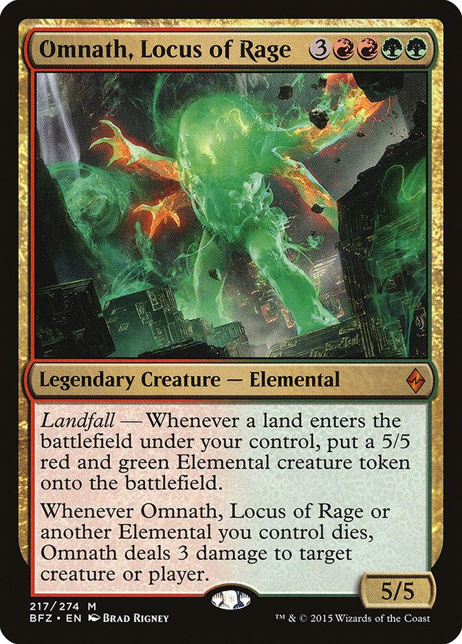 mtg GREEN LANDFALL EXPLORE DECK Magic the Gathering rares wayward swordtooth