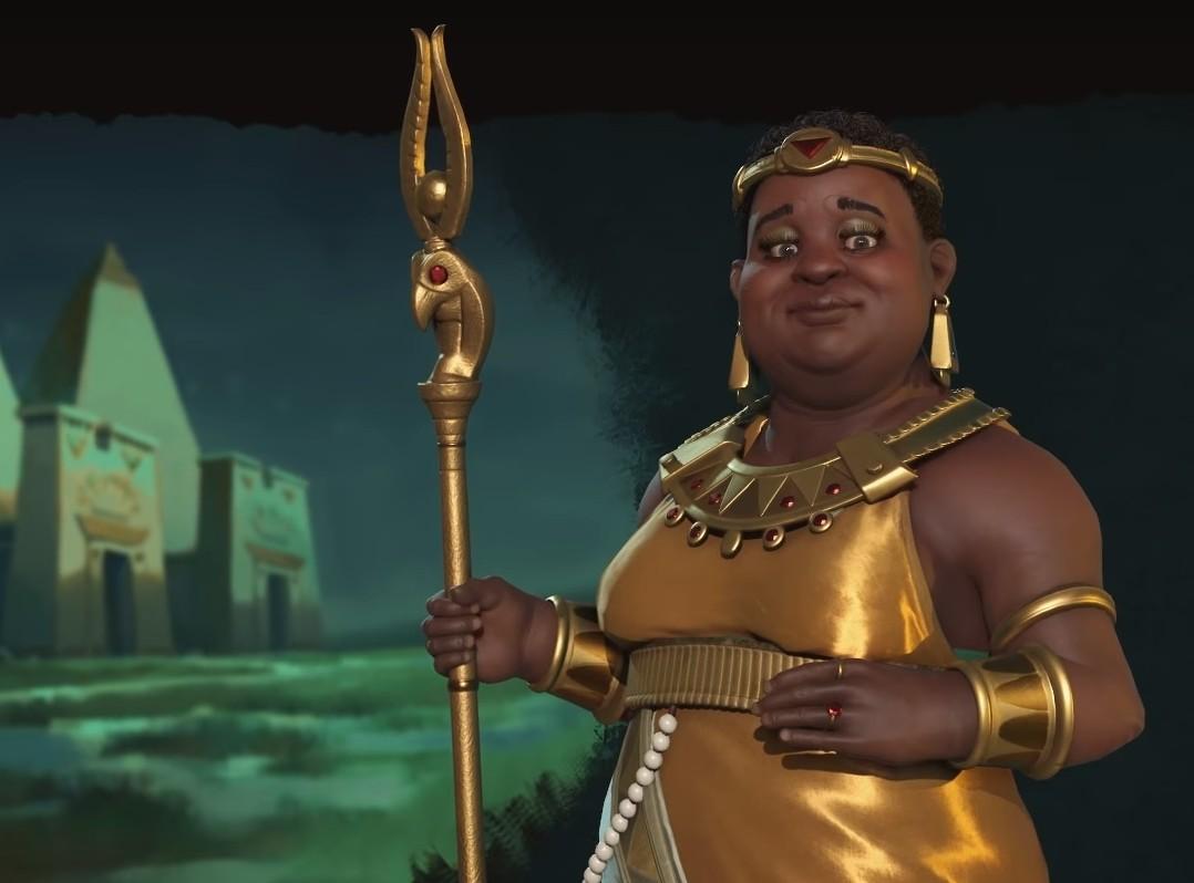 Nubian queen amanitore