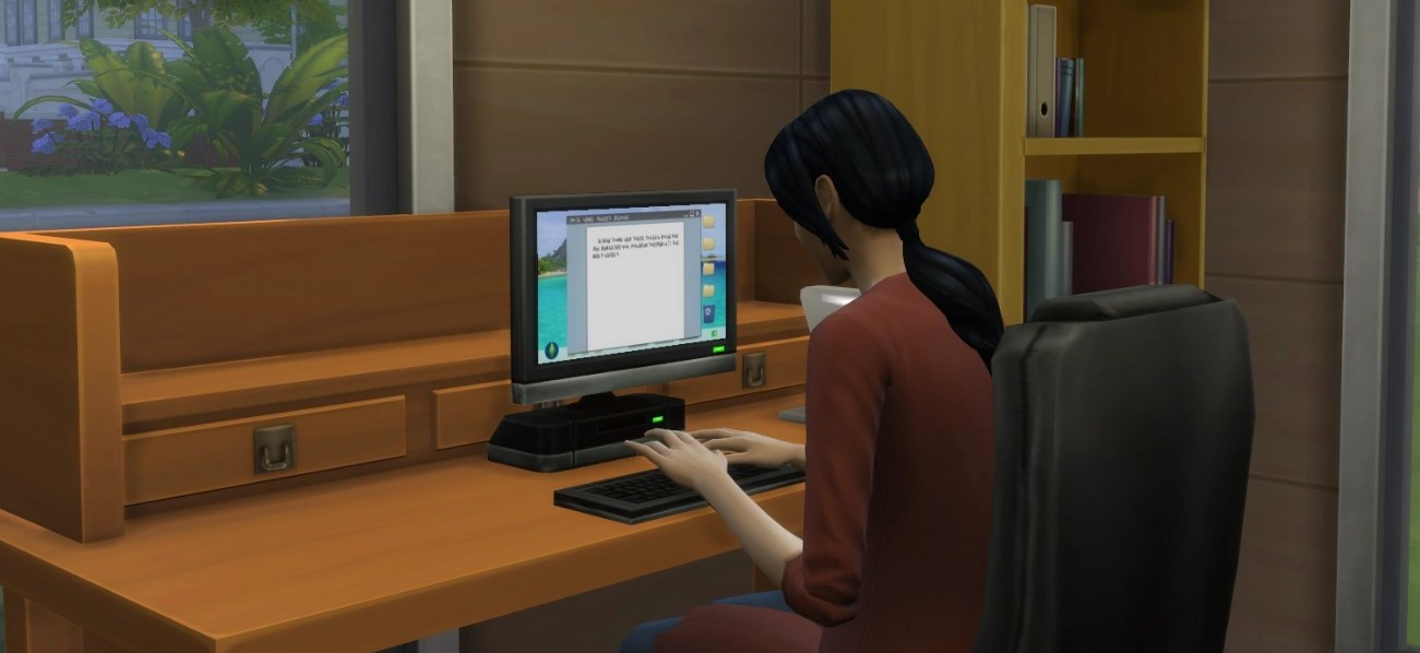 Your sim is going to need some peace and quiet to work on their novel.