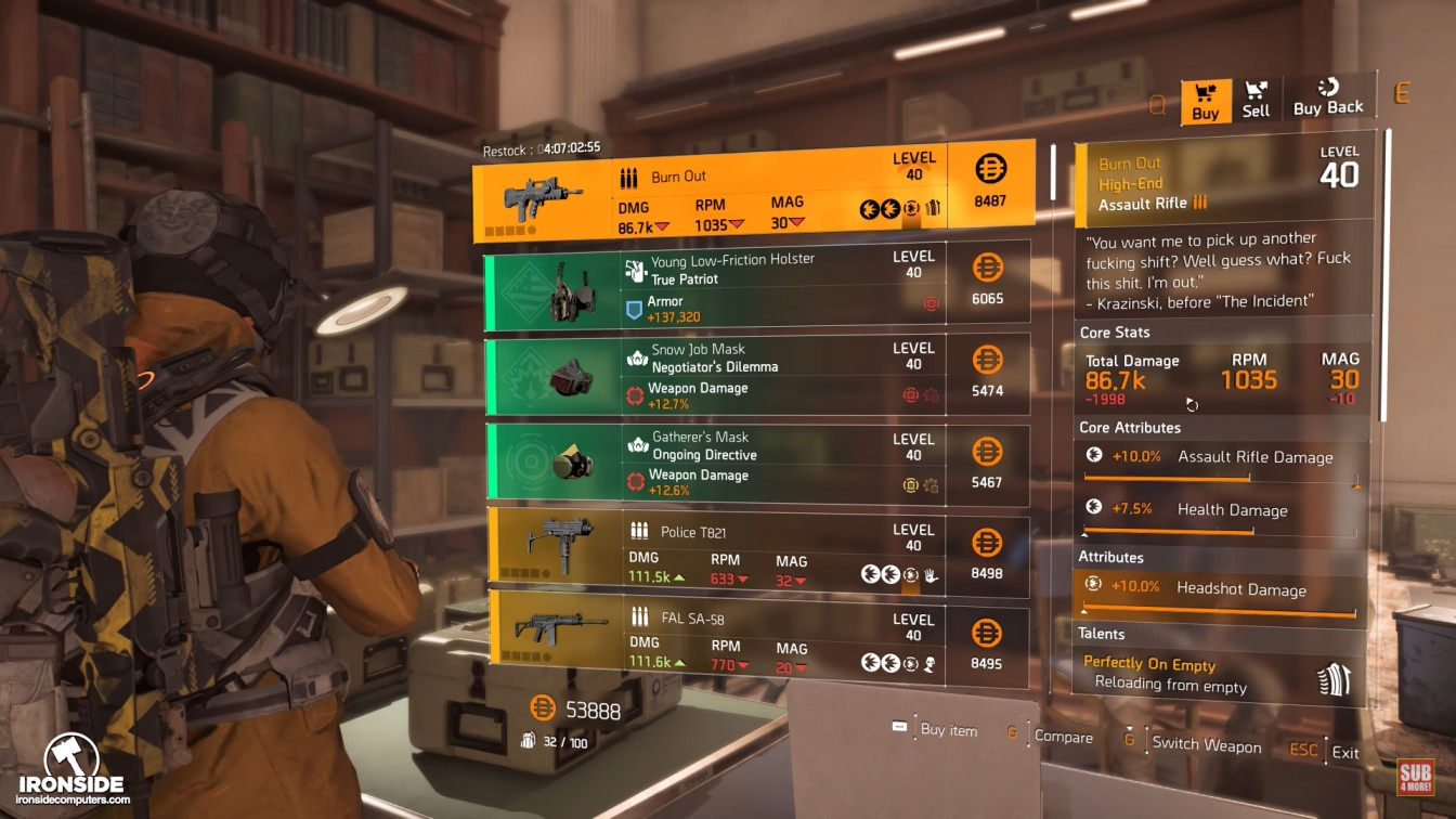 Top 10] The Division 2 Best DPS Weapons ...