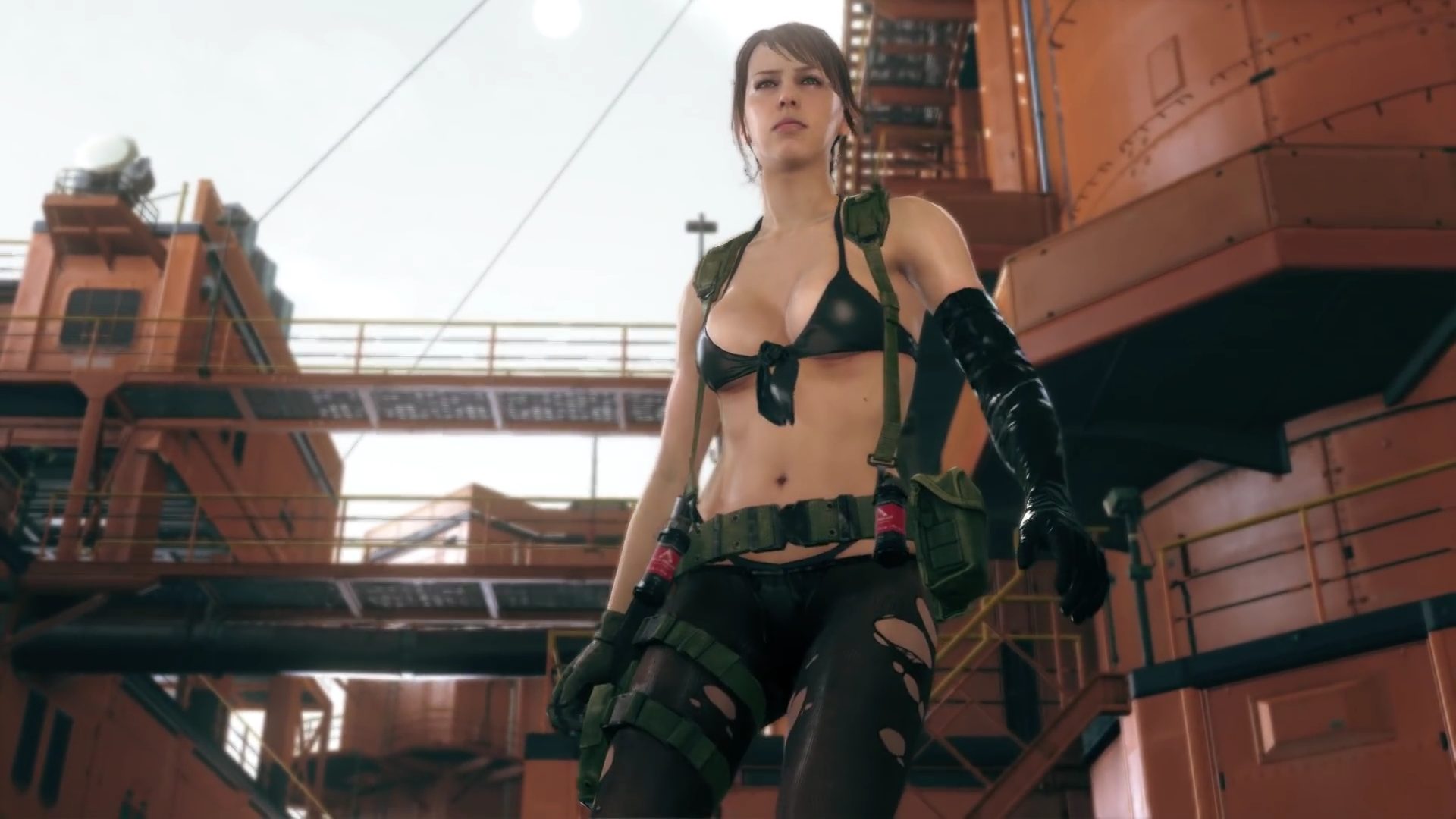 Metal Gear Solid 5 10 Sexy Pictures Of Quiet Gamers Decide