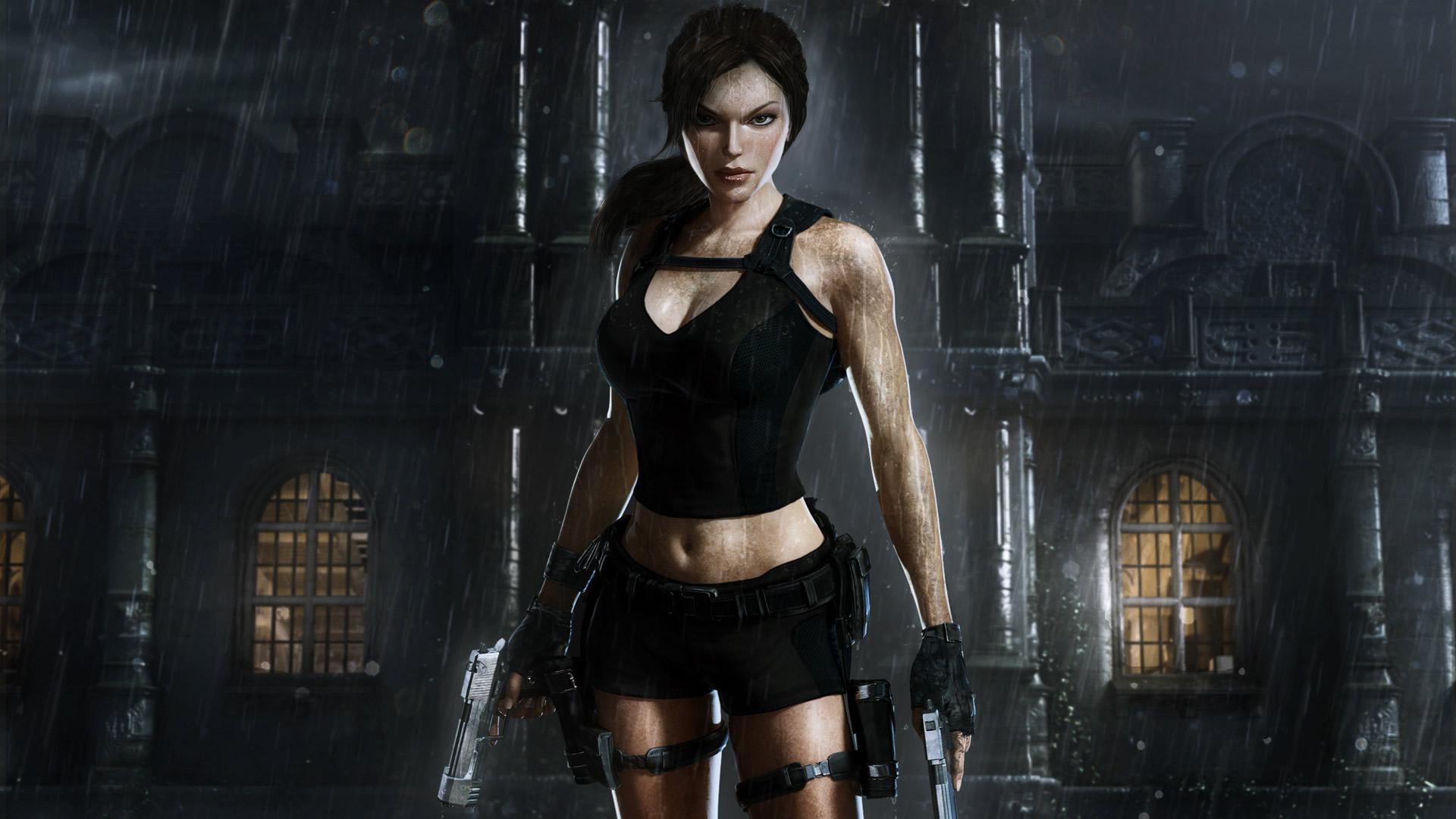 Magnificent Lara Croft in Tomb Raider Underworld Wallpaper
