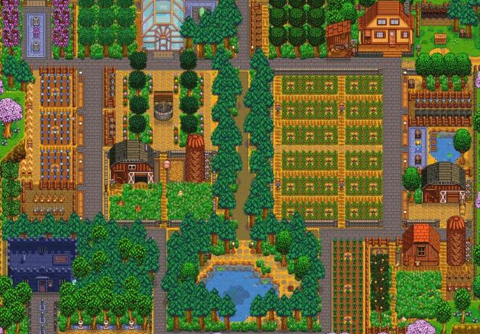 Top 15 Stardew Valley Best Farm Layouts Gamers Decide