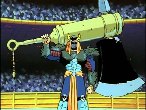 Bui with his giant axe