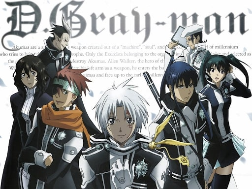 Main cast of D-Gray Man