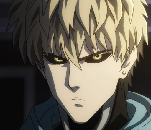 Genos ready for battle at any time