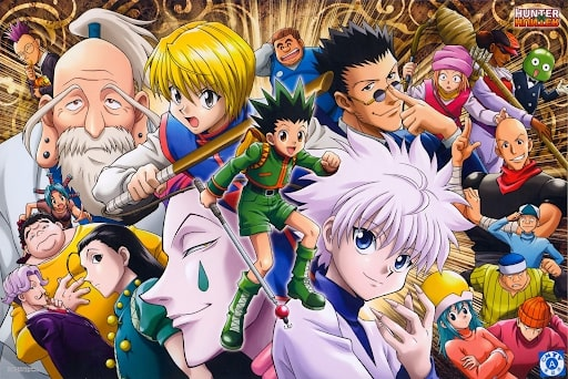 Characters from all arcs