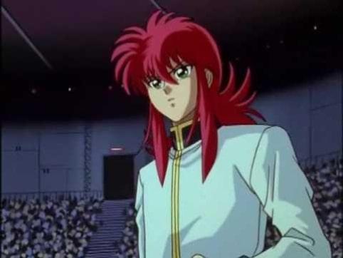 Kurama looks at the paint warrior