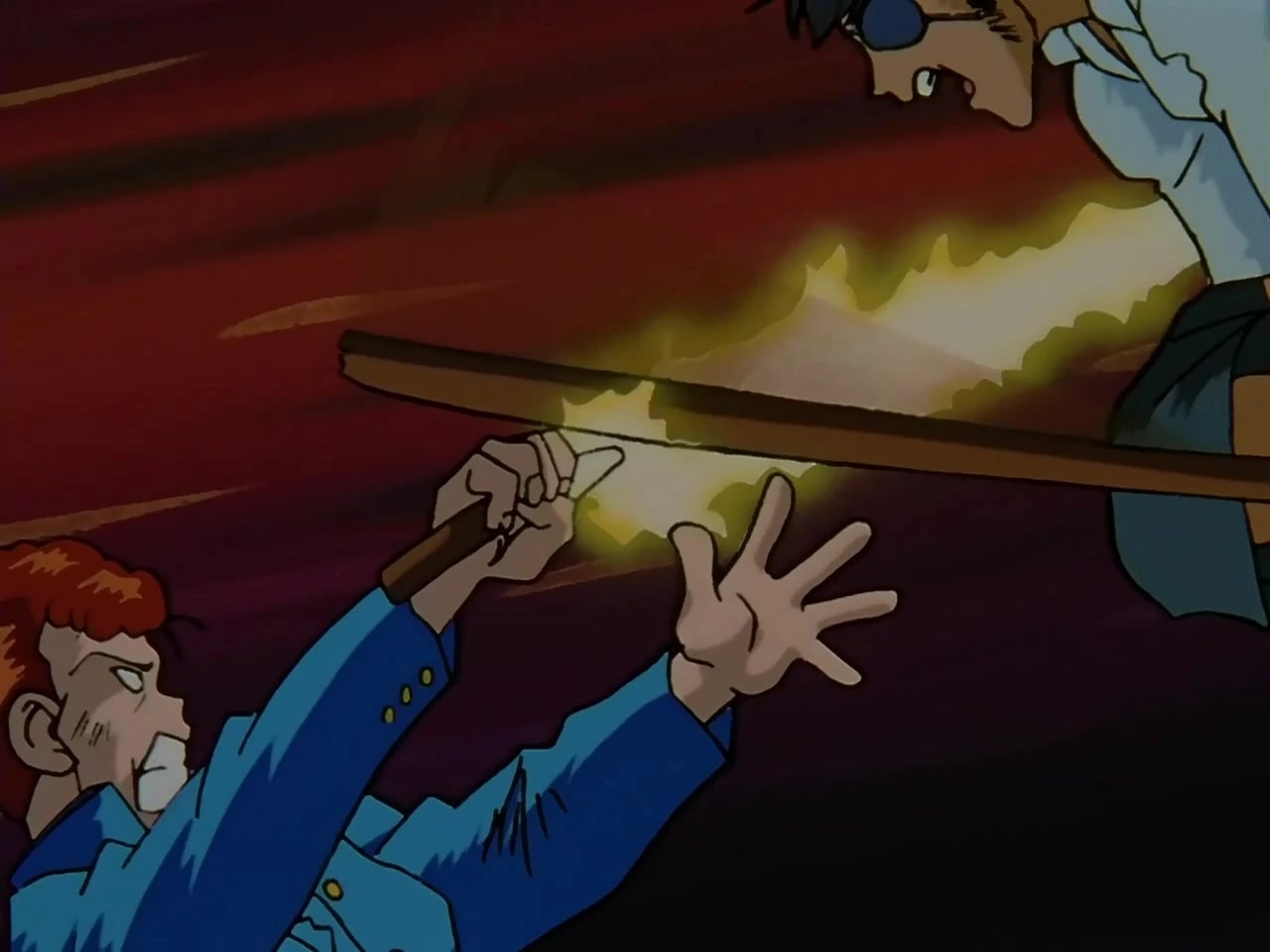 Kuwabara's first spirit sword