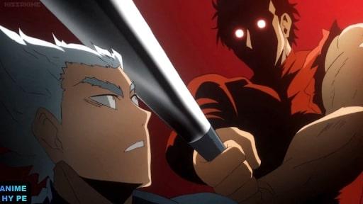 Garou vs metal bat