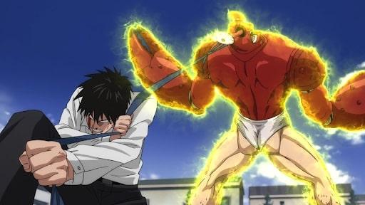 Saitama vs Crablante