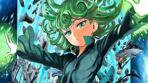 Tatsumaki casually displaying her power