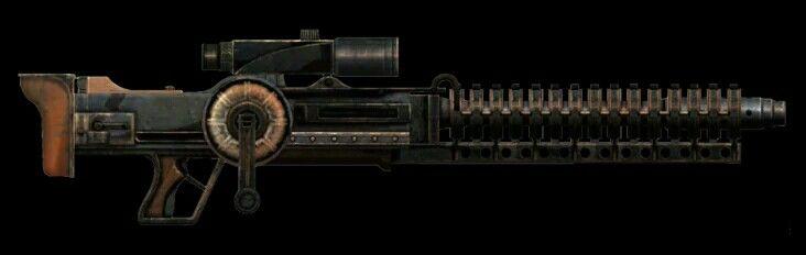 Уникальная винтовка Гаусса