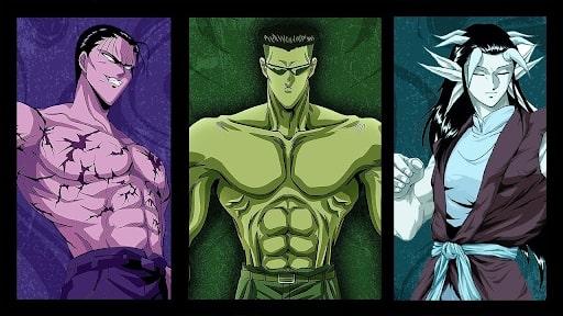 Yu-Yu-Hakusho Villains