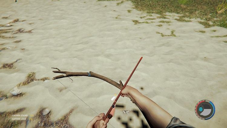 Лес - огненная стрела