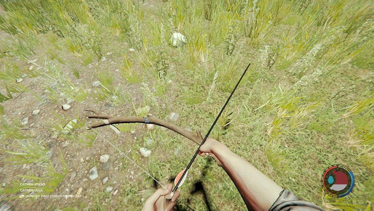 Лес - современная стрела