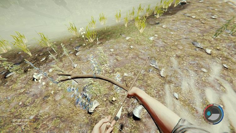 Лес - обычная стрела