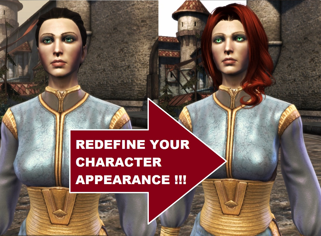 Dragon Age: Origins, mods, Change Your Hero Hair and Face Anywhere