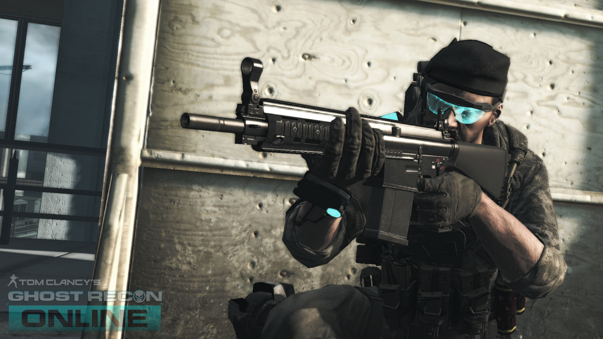 how to go first person in ghost recon