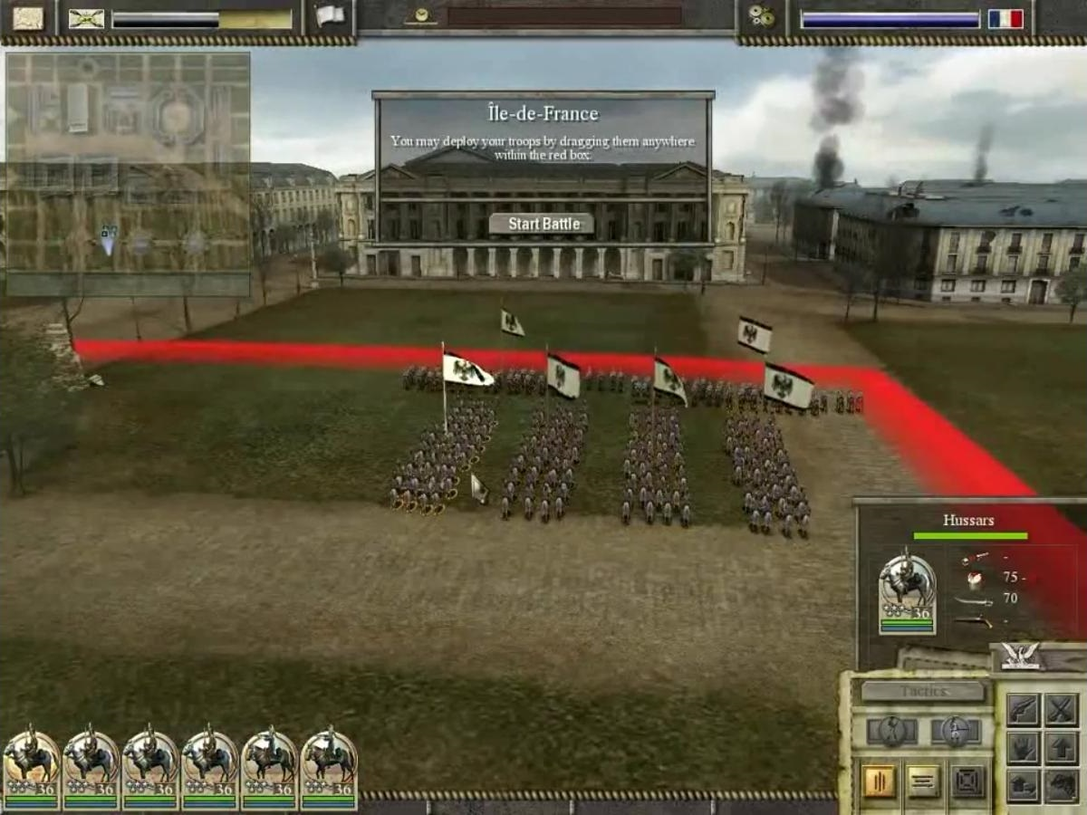 Imperial Glory, Tactics, Deployment, Setup, War, Game, Army, Napoleon