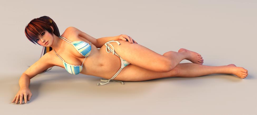 Nude army girl