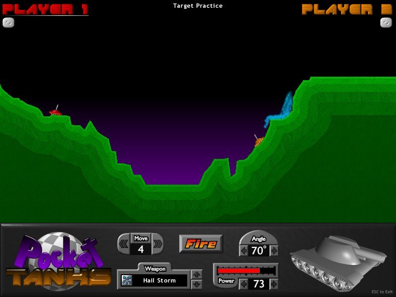 Don't tell me you didn't love the crap out of Pocket Tanks.