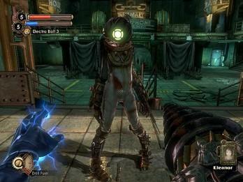 BioShock- Shocking Hand Combat