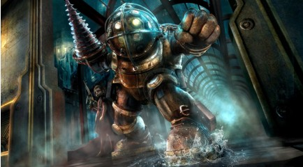 BioShock-Big Daddy and Little Sister