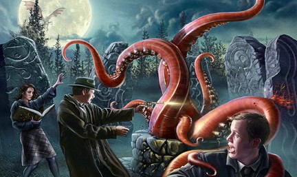 Call of Cthulhu-Battle The 8 Legged Octopus