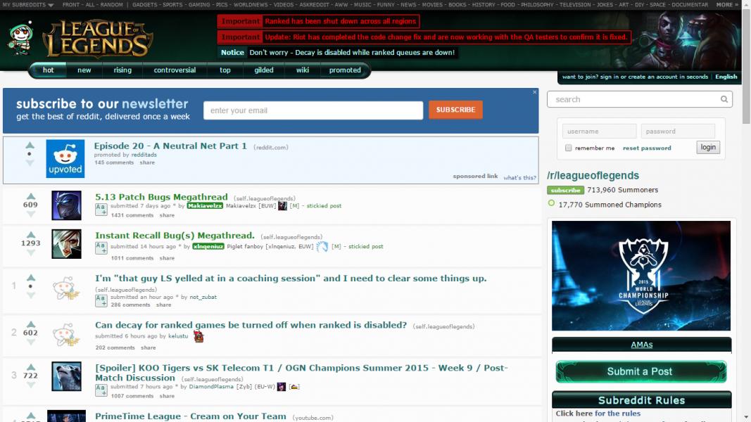 Reddit League of Legends: 21 Best Threads Every LOL Player ...  Reddit League o...