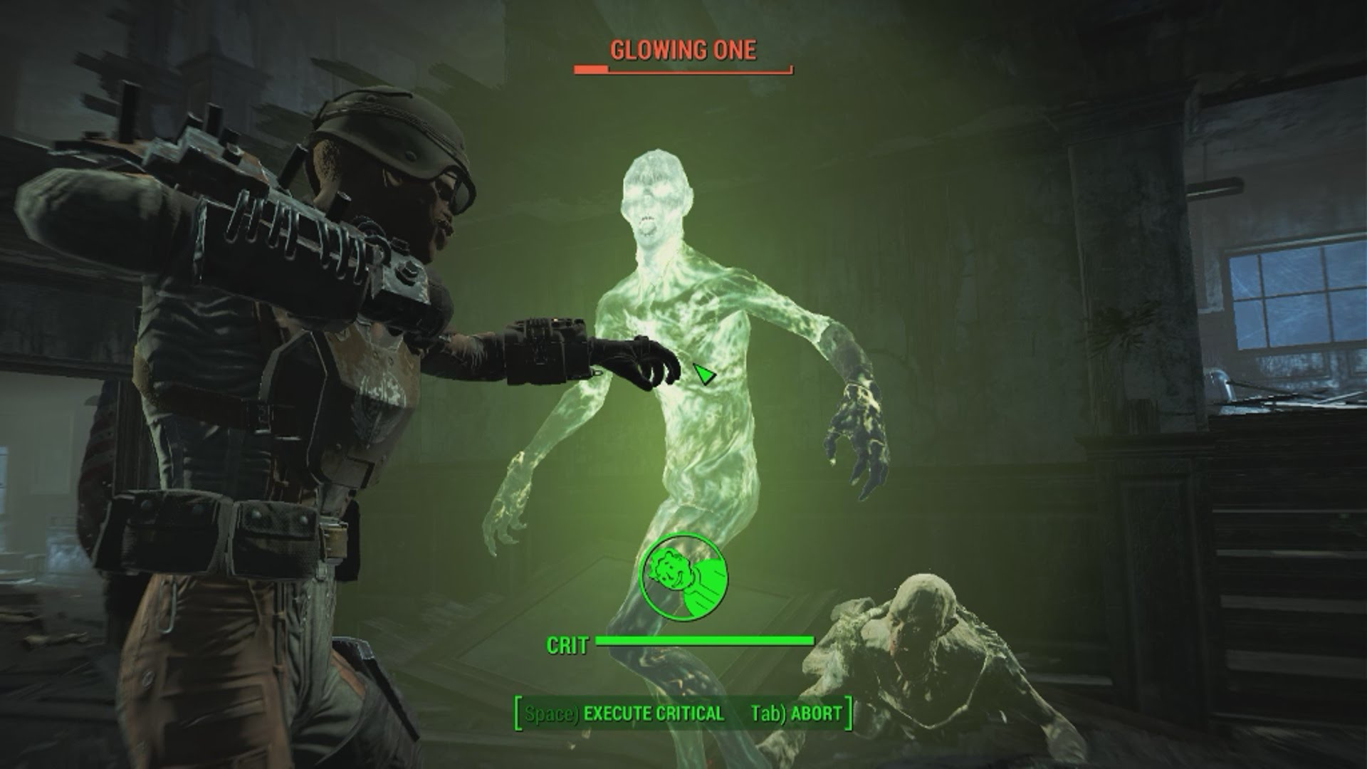 Glowing one fallout