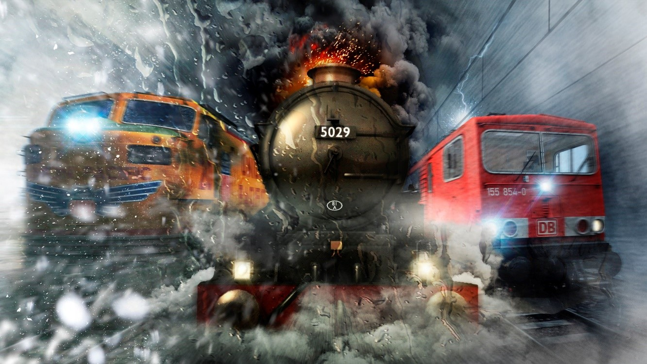 best train games