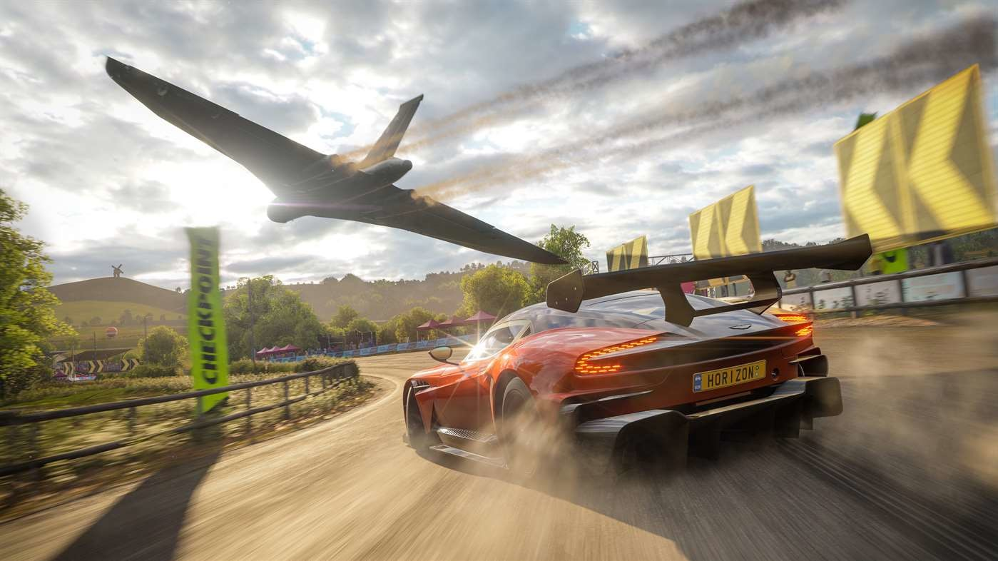 Forza Plane on Race Cars Game Pc
